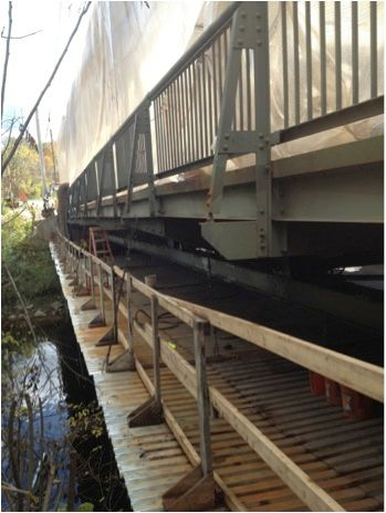 Bridge Restoration Project by Vermont Protective Coatings